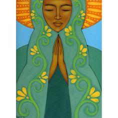 Madonna mexicaine Guadalupe impression de par Tamara Adams -  goddessgallery