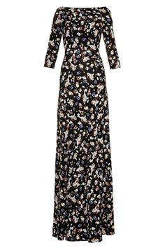 Erdem Valentina floral-print gown, $1,282 matchesfashion.com - Photo: Courtesy of matchesfashion.com