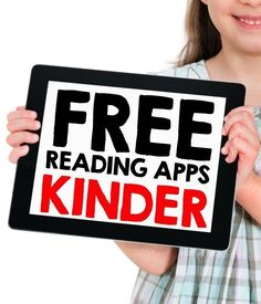 Kindergarten Apps for Reading (Simply Kinder) Homeschool Kindergarten, Kindergarten Classroom, Homeschooling, Classroom Ideas, Classroom Freebies, Kindergarten Websites, Kindergarten Calendar, Kindergarten Centers, Classroom Games