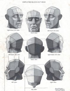 All Learning is Self Learning: Photo Human Anatomy Drawing, Face Anatomy, Anatomy Poses, Drawing Practice, Figure Drawing, Planes Of The Face, Facial Expressions Drawing, Anatomy Sculpture, Drawing Heads