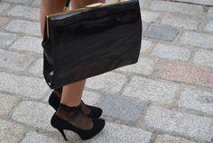 Patent leather box bag Leather Box, Patent Leather, Box Bag, Trends, Bags, Handbags, Dime Bags, Totes, Hand Bags