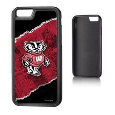 NCAA Wisconsin Badgers Galaxy S8+ Bump Case