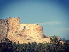 Crazy Hose Memorial. #crazyhorse #southdakota #dakota #sd #travel #travelphotography
