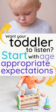 Are you frustrated that your toddler doesn't listen? Wondering how to handle toddler tantrums? Well, are you setting age appropriate expectations from your toddler? Find out what are the… Toddler Chores, Toddler Behavior, Toddler Discipline, Chores For Kids, Toddler Activities, Learning Activities, Positive Discipline, Toddler Boys, Family Activities