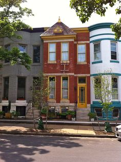 Lakewood Ave in Baltimore's Patterson Park neighborhood where you can get an amazing house for for a very reasonable price Patterson Park, Baltimore Maryland, House Exteriors, Greatest Adventure, Hairspray, Townhouse, The Row, Home Goods, The Neighbourhood