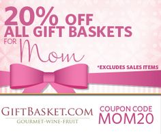 Surprise Mom with a gift basket. Don't let Mom cook on Mothers Day! Find more gift ideas at: http://www.allaboutcuisines.com/mothers-day #Mothers Day