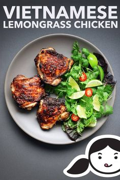Vietnamese Lemongrass Chicken - Nom Nom Paleo® - This Vietnamese Lemongrass Chicken is packed with umami and my whole family loves - Whole 30 Recipes, Real Food Recipes, Chicken Recipes, Cooking Recipes, Healthy Recipes, Delicious Recipes, Clean Eating, Healthy Eating, Nom Nom Paleo