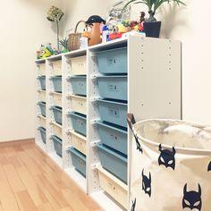 My Shelf/ダイソー/100均/ドライフラワー/ニトリ/おもちゃ収納...などのインテリア実例 - 2017-09-12 13:51:35   RoomClip (ルームクリップ)