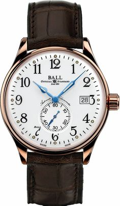 Ball Marks Adoption Of Standard Time With New Trainmaster Watch
