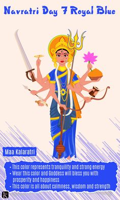 Navratri is a very special Hindu festival in which nine different form of Goddess Durga is worshipped on each day. Each day holds its own Navratri Devi Images, Navratri Puja, Navratri Wishes, Durga Images, Lakshmi Images, Navratri Special, Happy Navratri, Happy Dussehra Wishes, Hindu Deities