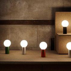 nice Joel Hoff designs rotating table lamp for Wrong for Hay