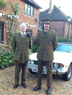 Triumph Stag with two of our customers at Goodwood Revival 2013