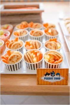 Themed Food Ideas for Boys Pirate Birthday Party www.spaceshipsandlaserbeams.com