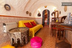 charming cave-house , Alhambra area in Granada