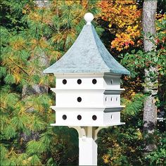 martin bird house fascinating to see them return to their home in the evenings great mosquito control. . .