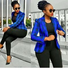 Nice blue plaid blazer sbusinessoutfit s Men's Business Outfits, Business Casual Attire, Classy Work Outfits, Chic Outfits, Fall Outfits, Summer Outfits, Fashion Outfits, Work Fashion, Fashion Models