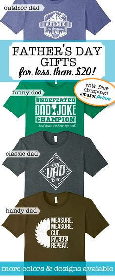 great gifts for fathers day all shirts are 1499 1899 and ship for free