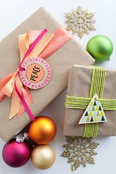 DIY Wood Gift Tags and Ornaments
