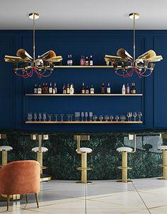 Unique Design Ideas to Try in Your Home!   www.delightfull.eu/blog   #lightingdesign #midcentury #interiordesign