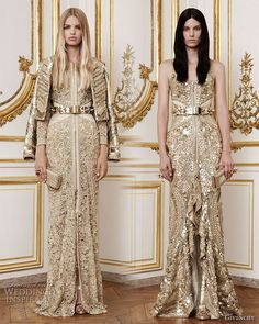 Gold and glamorous. Givenchy #bridal #dress