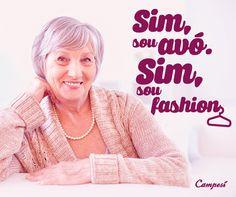 Não é porque você é avó que você deixou de ser fashion, né? Afinal, você tem muito mais experiência na hora de escolher os looks!