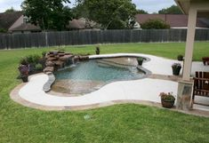 Inground Pools For Small Yards Pools Pinterest
