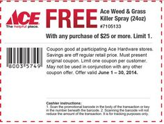 Check out offers from Ace Hardware using GeoQpons app on your phone. Visit www.geoqpons.com