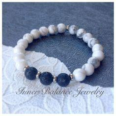 Aromatherapy bracelet/essential oil bracelet/aromatherapy bead/lava stone bracelet/diffuser bracelet/healing bracelet/essential oil jewelry