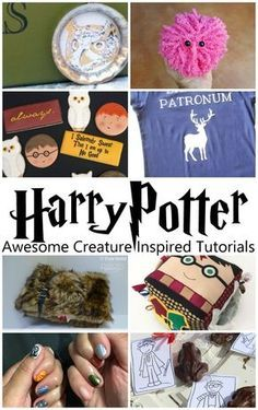 Can't wait for Fantastic Beasts and Wear to Find them. THese Harry Potter creature inspired tutorials are perfect Cumpleaños Harry Potter, Harry Potter Houses, Harry Potter Birthday, Harry Potter Crafts Diy, Harry Potter Classroom, Anniversaire Harry Potter, Harry Potter Christmas, Creations, Fantastic Beasts