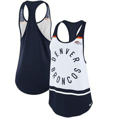 c0afebb6e89a8 Denver Broncos Nike Women s Tri-blend Circle Racerback Tank Top - White -   34.99 Denver