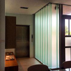 Pilkington Profilit™ U-shaped glass U Glass, Channel Glass, Glass Design, Shutters, Facade, House Plans, House Design, Windows, Curtains
