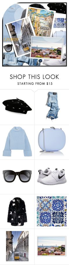 """""""Lisbon Portugal"""" by letiperez-reall ❤ liked on Polyvore featuring Steve Madden, R13, Jil Sander, Jeffrey Levinson, Gucci, NIKE, polyvoreeditorial, portugal, lisbon and outfitsfortravel"""