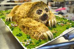 Sloth cake!@Michael Dussert Dussert Lythcott Joseph & @Courtney Baker Baker Baker H