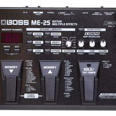 Hello Music: Boss Pedal ME-25 Multi-Effects