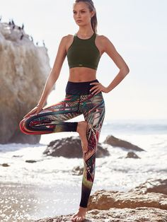 Knockout by Victoria's Secret Limited-edition Tight in Exotic Palm $94.50