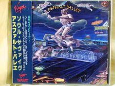 CD/Japan- ASPHALT BALLET s/t w/OBI RARE ORIGINAL 1991 OOP VJCP-28076 #GlamHairMetal