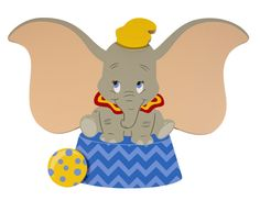 Features: -Dumbo collection. -Wall art shaped like your favorite Disney…
