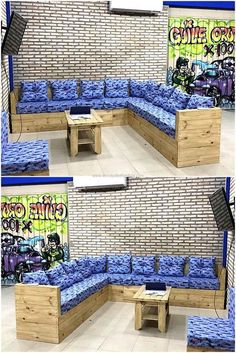 we would love to show you an idea for fulfilling the seating requirement. For the home with many individuals living in it, this pallet couch idea is perfect as many individuals can easily sit on it and have a gossip session to enjoy the weekend.