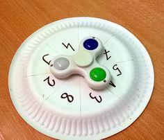 Spinner to ostatnio najmodniejsza i najbardziej lubiana zabawka wśród dzieci. Zapytałam uczniów, w jaki sposób można wykorzystać ją na lek...