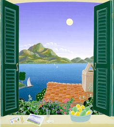 Window on Lake Como, Italy | Thomas McKnight