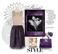 """""""Grape Style"""" by dop37 ❤ liked on Polyvore featuring Alice + Olivia, Vivienne Westwood, Lanvin, Chanel, Giuseppe Zanotti, Arco and MICHAEL Michael Kors"""