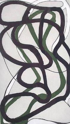 Brice Marden Suzhou print