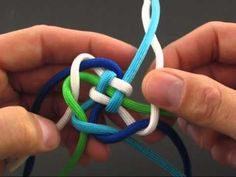 Tying it All Together: How to Make Paracord Jellyfish. YouTube channel has TONS of knot tutorials for bracelets, fobs, etc.