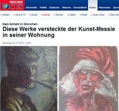 """El anciano Cornelius Gurlitt atesoraba una gigantesca colección de """"arte degenerado"""". Su descubrimiento por los agentes policiales germánicos ha sido una noticia espectacular para el mundo del arte: http://www.guiarte.com/noticias/el-tesoro-de-cornelius-arte-degenerado.html"""