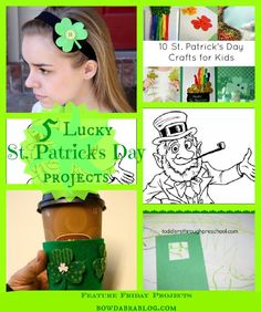 5 LUCKY St. Patrick's Day Projects