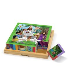 Look at this Melissa & Doug New Testament Cube Puzzle on #zulily today!