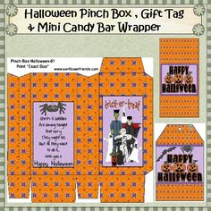 Image detail for -Halloween Pinch Box Set Halloween Gift Bags, Holidays Halloween, Halloween Ideas, Halloween Decorations, Minis, Paper Crafts, Diy Crafts, Little Books, Doll Houses