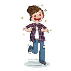 Mis padres, que me quieren, me han regalado una camisa de cuadros que me encanta ♡ Character Art, Instagram Posts, Fictional Characters, Parents, Fantasy Characters, Figure Drawings