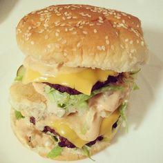 Homemade Big Macs - designer bags and dirty diapers