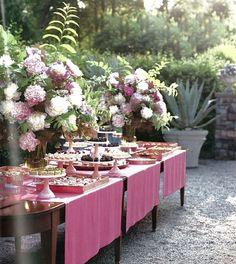 soiree tablescape
